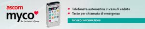 Myco è uno smartphone per anziani (e non solo), che segnala cadute o malori improvvisi, grazie a chiamate di emergenza.