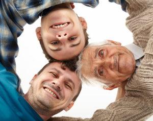 Figli unici e aiuto per i propri genitori anziani